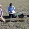 Flight with Laser Based Gas Sensors